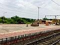 Annavaram railway station board.jpg