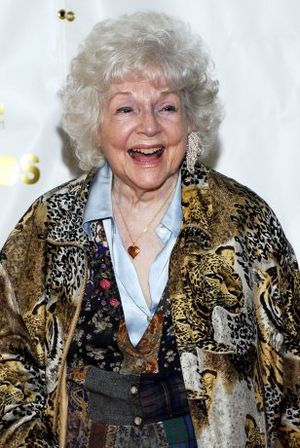 Lucille Bliss - Bliss at the 34th Annie Awards, 2007