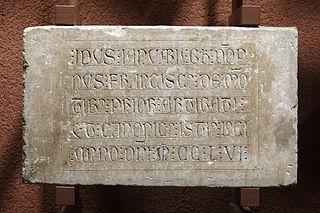 Épitaphe de Franciscus de Montibus