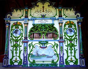 Carl Frei - Image: Antique Amsterdam Street Organ