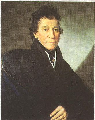 Bedřich Smetana - The father, František Smetana (1832). Portrait by Antonín Machek