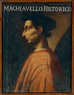 Antonio Maria Crespi Castoldi - Portrait of Niccolò Machiavelli