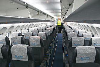 Angara Airlines - Angara Airlines Antonov An-148 cabin