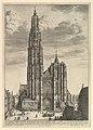 Antwerp Cathedral (Prospectvs Tvrris Ecclesiæ Cathedralis) MET DP827154.jpg