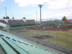 青森県営野球場's relation image