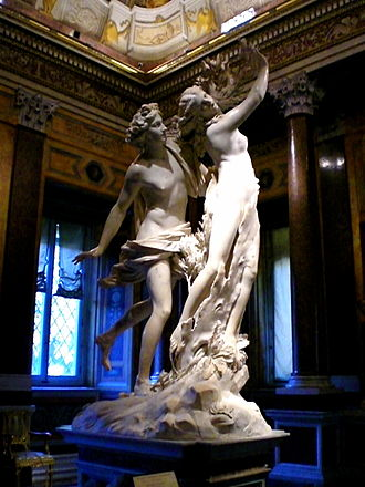 Galleria Borghese - Image: Apollo And Daphne