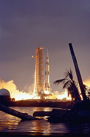 Apollo 14 - Launch of Apollo 14