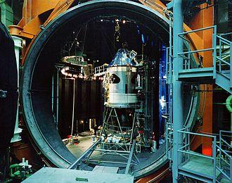 Vacuum - A large vacuum chamber
