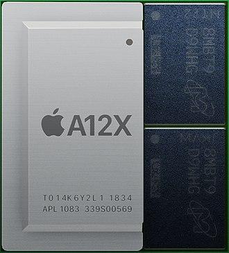 Apple A12X - Image: Apple A12X
