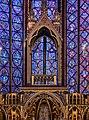 Apse of Sainte Chapelle, Paris July 2013.jpg