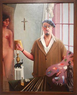 Archibald Motley - Archibald Motley Self Portrait
