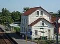 Ardres (Pas-de-Calais) Pont d'Ardres, la gare (02).JPG