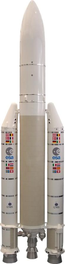 Modello di un Ariane 5