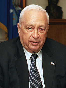 Ariel Sharon in 2002