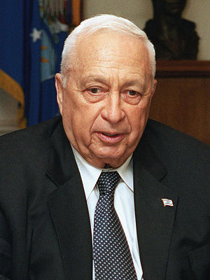 State of Israel Prime Minister, Ariel Sharon, ...