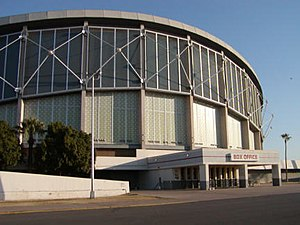 Das Arizona Veterans Memorial Coliseum in Phoenix