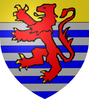 Anthony I, Count of Ligny - Coat of arms of Luxembourg-Ligny