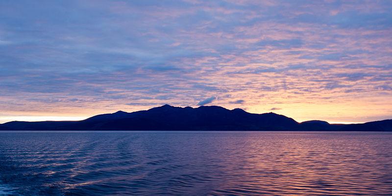 File:Arran sunset.jpg