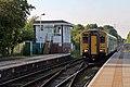 Arriva Trains Wales Class 150, 150282, Pen-y-ffordd railway station (geograph 4032636).jpg