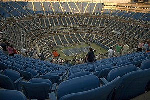 The Arthur Ashe stadium