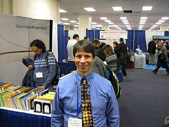 Arthur T. Benjamin - Arthur Benjamin at the Joint Mathematics Meetings in Washington, DC, January 2009.