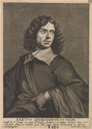 Artus Quellinus II - Artus Quellinus II, in Cornelis de Bie's Het Gulden Cabinet