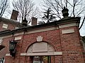 As you enter from Harvard Yard from Square Train Station MBTA Harvard University,. November, 2019. pic.dm1aa Cambridge, Massachusetts.jpg
