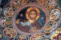 Asinou - Kirche Narthex 4 Kuppel.jpg