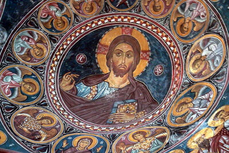 File:Asinou - Kirche Narthex 4 Kuppel.jpg