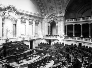 Chamber of Deputies of Portugal (1910-1926) - Image: Aspecto da Câmara dos Deputados antes da implantação da República Emílio Biel e Companhia