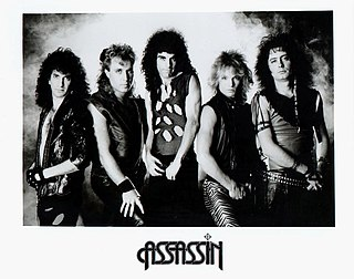 Assassin (band) heavy metal band that was formed in San Diego