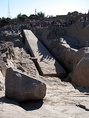 Unfinished obelisk - The unfinished obelisk of Aswan