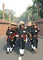 At an impressive Ceremonial Change of Guard ceremony held at Rashtrapati Bhavan 6 Assam Regiment took over the charge of Ceremonial duties from 4 - Sikh LI, on July 1, 2006 (1).jpg