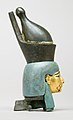 Attachment in the form of the head of a goddess wearing the double crown MET 26.7.1427 rp.jpg
