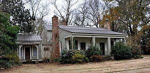 Attoway R. Davis Home - Image: Attoway R. Davis Home at Eutaw, AL (2)