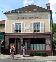L'Auberge Ravoux, in Auvers-sur-Oise, where Vincent Van Gogh spent his final months and where he died. It is now a restaurant.