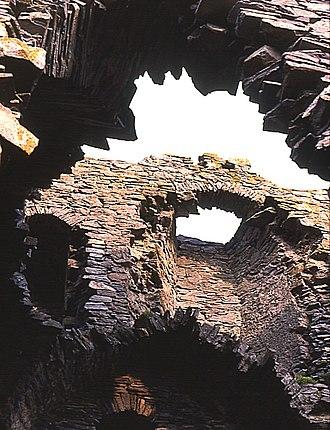 Adam Gordon of Auchindoun - Ruins of Auchindoun Castle