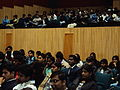 Auditorium nearly filled by the Participants.JPG
