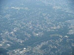 Audubon, New Jersey - Aerial view of Audubon