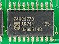 Auerswald COMfort 2000 Base - display part - Philips 74HC377D-93449.jpg