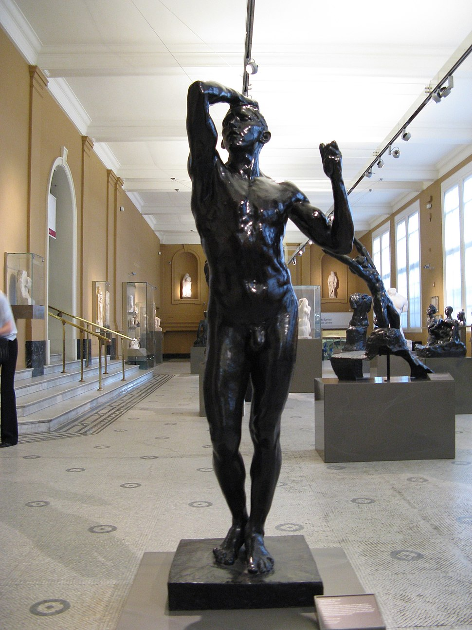 Auguste Rodin-The Age of Bronze-Victoria and Albert Museum-2