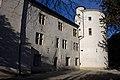Aurec sur Loire-Château Seigneurial-Façade Sud et Tour de la Roue-20110207.jpg