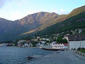 Aurland - View of Aurlandsvangen