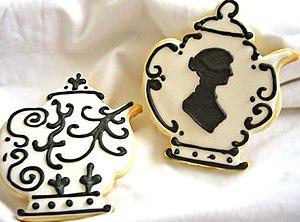 Janeite - Jane Austen teapot cookies
