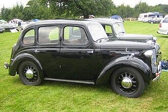 Austin 8 - Austin 8 4-door Saloon (circa 1946)