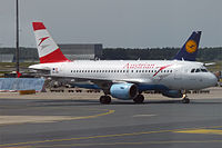 OE-LDB - A319 - Austrian Airlines