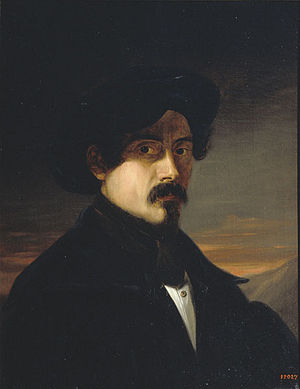 Josep Arrau i Barba - Self-portrait (1837)