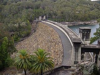 Avon Dam Dam in Avon Dam Road, Avon Dam, New South Wales