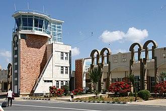 Axum Airport - Axum Airport terminal building