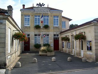 Ayguemorte-les-Graves - The town hall in Ayguemorte-les-Graves